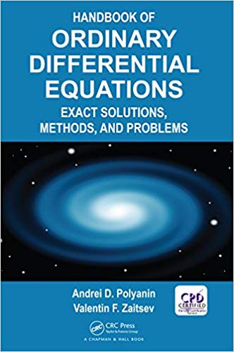Handbook of Ordinary Differential Equations: Exact Solutions, Methods, and Problems